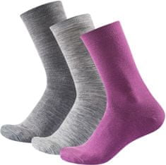 Devold Daily Light Woman Sock 3pk zokni